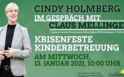 Krisenfeste Kinderbetreuung – Cindy Holmberg im Gespräch mit Mitgliedern der Landeselternvertretung