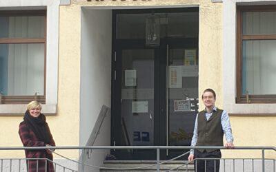 Rundgang durch Burladingen mit Bürgermeister Davide Licht