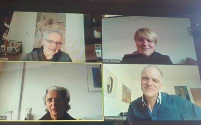 Austausch mit Prof. Jo Jerg und Maria Knab von der Pädagogischen Hochschule in Reutlingen
