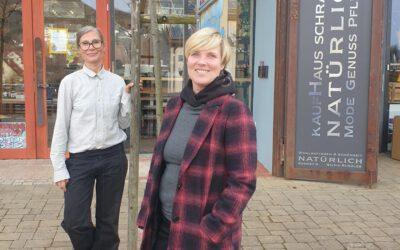 Besuch im KaufHaus Schramm in Jungingen
