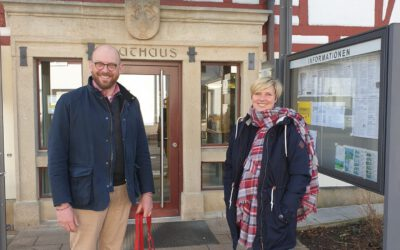 Rundgang durch St. Johann-Bleichstetten mit Bürgermeister Florian Bauer