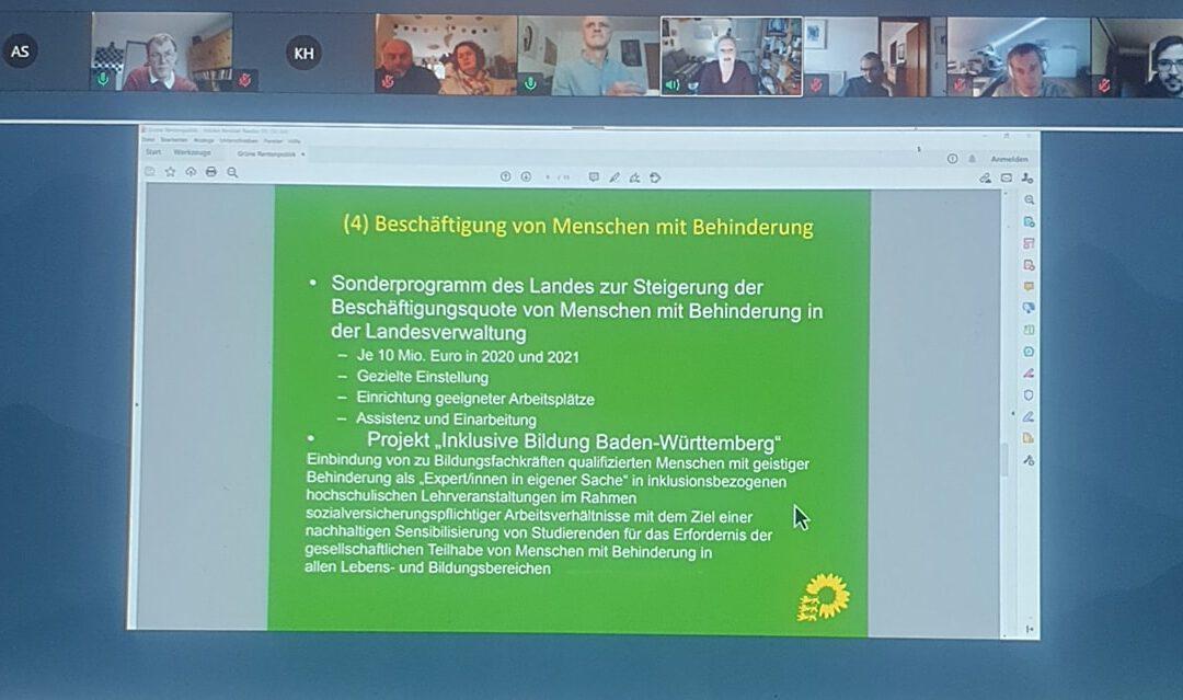 """Fachgespräch """"Barrierefreie Gesellschaft. Grün macht den Unterschied – Wir haben noch viel vor!"""""""