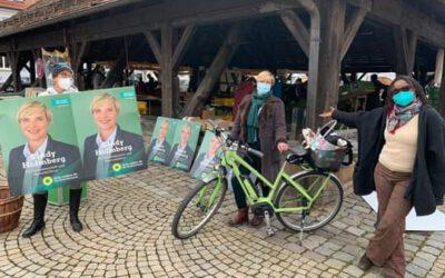 Infostand in Metzingen