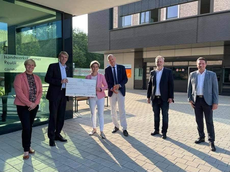 Das Land fördert die Bildungsakademie Tübingen der Handwerkskammer Reutlingen