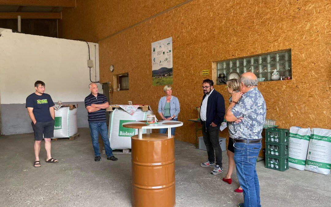 Septembertour- Bioland-Hof Riehle in Burladingen